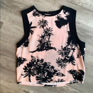 Zara Tropical Blouse